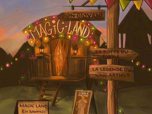 Cet été : Le Magic Land en tournée